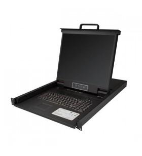 """StarTech.com RKCONS1908K console pentru montare în rack 48,3 cm (19"""") 1280 x 1024 Pixel Negru 1U"""