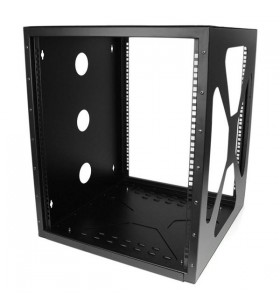 StarTech.com RK1219SIDEM rack-uri 12U Raft montat pe perete Negru
