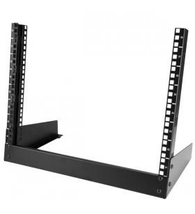 StarTech.com RK8OD rack-uri 8U Raft de sine stătător Negru