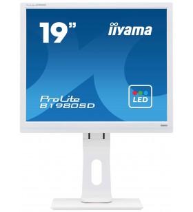 "iiyama ProLite B1980SD-W1 LED display 48,3 cm (19"") 1280 x 1024 Pixel Alb"