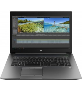 "HP ZBook 17 G6 Stație de lucru mobilă Argint 43,9 cm (17.3"") 1920 x 1080 Pixel Intel® Core™ i7 generația a 9a 16 Giga Bites"