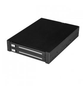 """StarTech.com HSB225S3R sloturi 8,89 cm (3.5"""") Casetă suport Negru"""