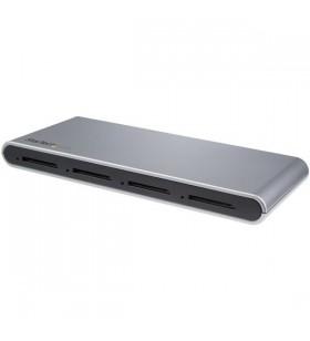 StarTech.com 4SD4FCRU31C cititoare de carduri Negru USB 3.2 Gen 1 (3.1 Gen 1) Type-C