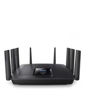Linksys AC5400 router wireless Tri-band (2.4 GHz   5 GHz   5 GHz) Gigabit Ethernet Negru