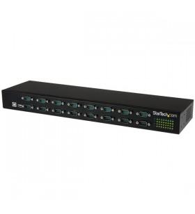 StarTech.com ICUSB23216FD hub-uri de interfață USB 2.0 Type-B 480 Mbit s Negru