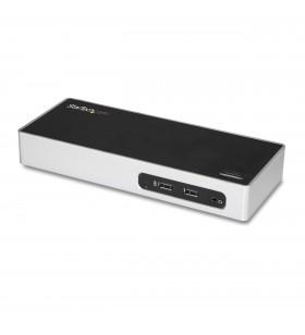 StarTech.com DK30ADD stații de andocare și replicatoare de porturi pentru calculatoare portabile Prin cablu USB 3.2 Gen 1 (3.1