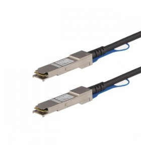 StarTech.com EXQSFP4050CM cabluri de rețea 0,5 m Negru