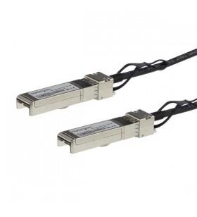 StarTech.com SFP10GPC2M cabluri de rețea 2 m Negru