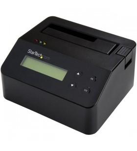 StarTech.com SDOCK1EU3P2 dispozitive de copiere a discurilor optice Dispozitiv de copiere HDD SSD 1 copii Negru