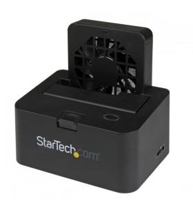 StarTech.com SDOCKU33EF stație docking driver stocare USB 3.2 Gen 1 (3.1 Gen 1) Type-B + eSATA Negru