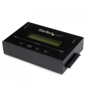 StarTech.com SATDUP11IMG dispozitive de copiere a discurilor optice Dispozitiv de copiere HDD SSD Negru