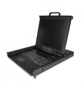 """StarTech.com RKCONS1701 console pentru montare în rack 43,2 cm (17"""") 1280 x 1024 Pixel Oțel 1U"""