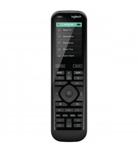Logitech Harmony 950 telecomenzi IR fără fir Audio, DVD Blu-ray, DVR, Sistem home cinema, PC-ul, SAT, Smartphone, Tabletă Ecran