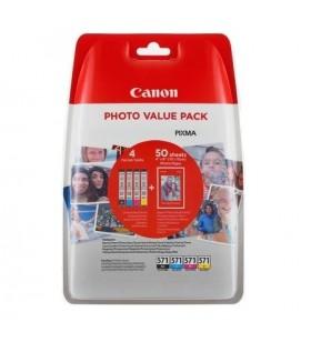 Canon CLI-571XL Original Negru, Cyan, Magenta, Galben