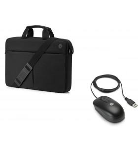 HP Mapă Prelude de 15,6 inchi cu deschidere superioară în pachet cu mouse