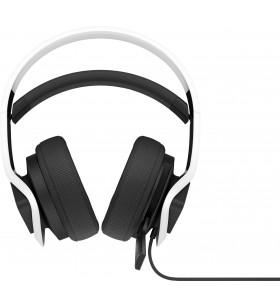 HP 6MF36AA cască audio & cască cu microfon Căști Bandă de fixare pe cap Alb
