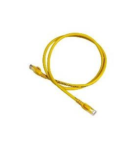 APC DC6PCURJ01YLM cabluri de rețea 1 m Cat6 U UTP (UTP) Galben