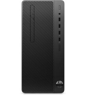 HP 290 G3 Intel® Core™ i5 generația a 9a i5-9500 8 Giga Bites DDR4-SDRAM 256 Giga Bites SSD Micro Tower Negru PC-ul Windows 10