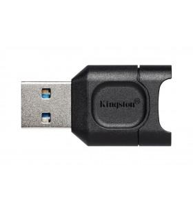 Kingston Technology MobileLite Plus cititoare de carduri Negru USB 3.2 Gen 1 (3.1 Gen 1) Type-A