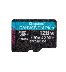 Kingston Technology Canvas Go! Plus memorii flash 128 Giga Bites MicroSD Clasa 10 UHS-I