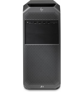 HP Z4 G4 Intel® Xeon® W W-2235 64 Giga Bites DDR4-SDRAM 2512 Giga Bites HDD+SSD Tower Negru Stație de lucru Windows 10 Pro
