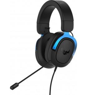 ASUS TUF Gaming H3 Căști Bandă de fixare pe cap Negru, Albastru