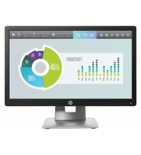 "HP EliteDisplay E202 50,8 cm (20"") 1600 x 900 Pixel HD+ LED Negru, Argint"