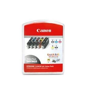 Canon CLI-8 Original Cyan foto, Magenta foto 5 buc.