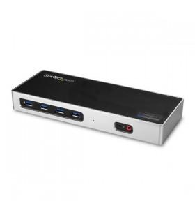 StarTech.com DK30A2DH stații de andocare și replicatoare de porturi pentru calculatoare portabile Prin cablu USB 3.2 Gen 1 (3.1