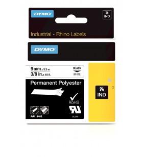 DYMO 18482 benzi pentru etichete Negru pe alb
