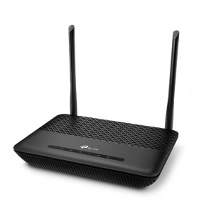 TP-LINK TD-W9960V router wireless Bandă unică (2.4 GHz) Gigabit Ethernet Negru