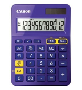 Canon LS-123K calculator Spaţiul de lucru Calculator cu display Purpuriu