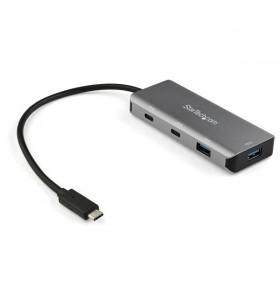 StarTech.com HB31C2A2CB hub-uri de interfață USB 3.2 Gen 2 (3.1 Gen 2) Type-C 10000 Mbit s Negru, Gri
