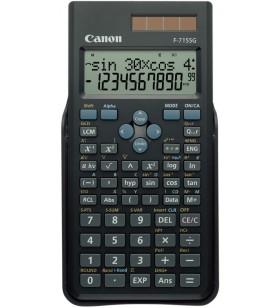 Canon F-715SG calculator Buzunar Calculator științific Negru