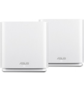 ASUS ZenWiFi AC (CT8) router wireless Tri-band (2.4 GHz   5 GHz   5 GHz) Gigabit Ethernet Alb