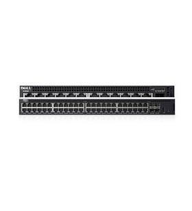 DELL X-Series X1052P Gestionate L2+ Gigabit Ethernet (10 100 1000) Negru 1U Power over Ethernet (PoE) Suport