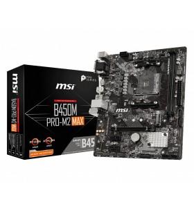 MSI B450M PRO-M2 MAX Mufă AM4 micro-ATX AMD B450