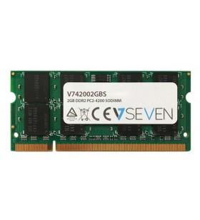 V7 V742002GBS module de memorie 2 Giga Bites DDR2 533 MHz