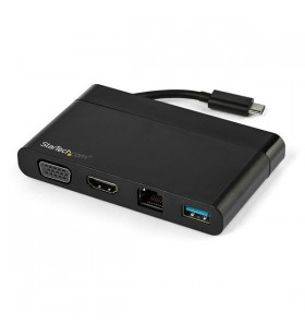 StarTech.com DKT30CHVCM stații de andocare și replicatoare de porturi pentru calculatoare portabile Prin cablu USB 3.2 Gen 1