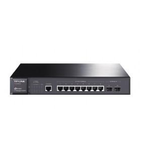 TP-LINK TL-SG3210 Gestionate L2 Gigabit Ethernet (10 100 1000) Negru