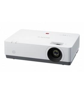 Sony VPL-EW435 proiectoare de date 3100 ANSI lumens 3LCD WXGA (1280x800) Proiector desktop Negru, Alb