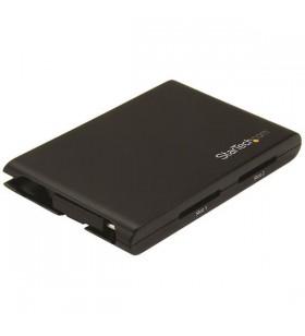 StarTech.com 2SD4FCRU3C cititoare de carduri Intern Negru USB 3.2 Gen 1 (3.1 Gen 1) Type-C