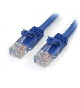 StarTech.com 45PAT5MBL cabluri de rețea 5 m Cat5e U UTP (UTP) Albastru