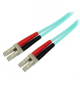 StarTech.com A50FBLCLC2 cabluri din fibră optică 2 m OM3 LC Turcoaz