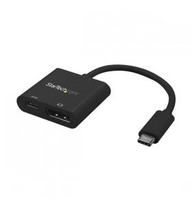 StarTech.com CDP2DPUCP adaptor grafic USB 3840 x 2160 Pixel Negru