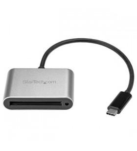 StarTech.com CFASTRWU3C cititoare de carduri Negru, Argint USB 3.2 Gen 1 (3.1 Gen 1) Type-C