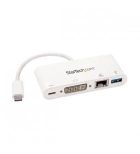 StarTech.com DKT30CDVPD stații de andocare și replicatoare de porturi pentru calculatoare portabile Prin cablu USB 3.2 Gen 1