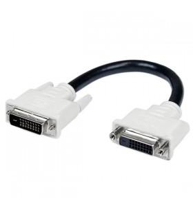 StarTech.com DVIDEXTAA6IN cablu DVI 0,15 m DVI-D Negru