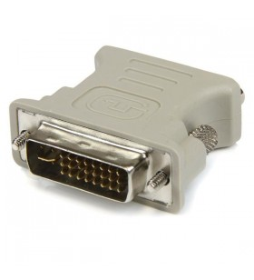 StarTech.com DVIVGAMF cabluri prelungitoare cu mufe mamă tată DVI-I VGA Bej