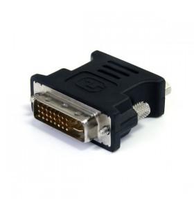 StarTech.com DVIVGAMFBK cabluri prelungitoare cu mufe mamă tată DVI-I VGA Negru